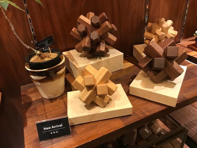 組木パズル。
