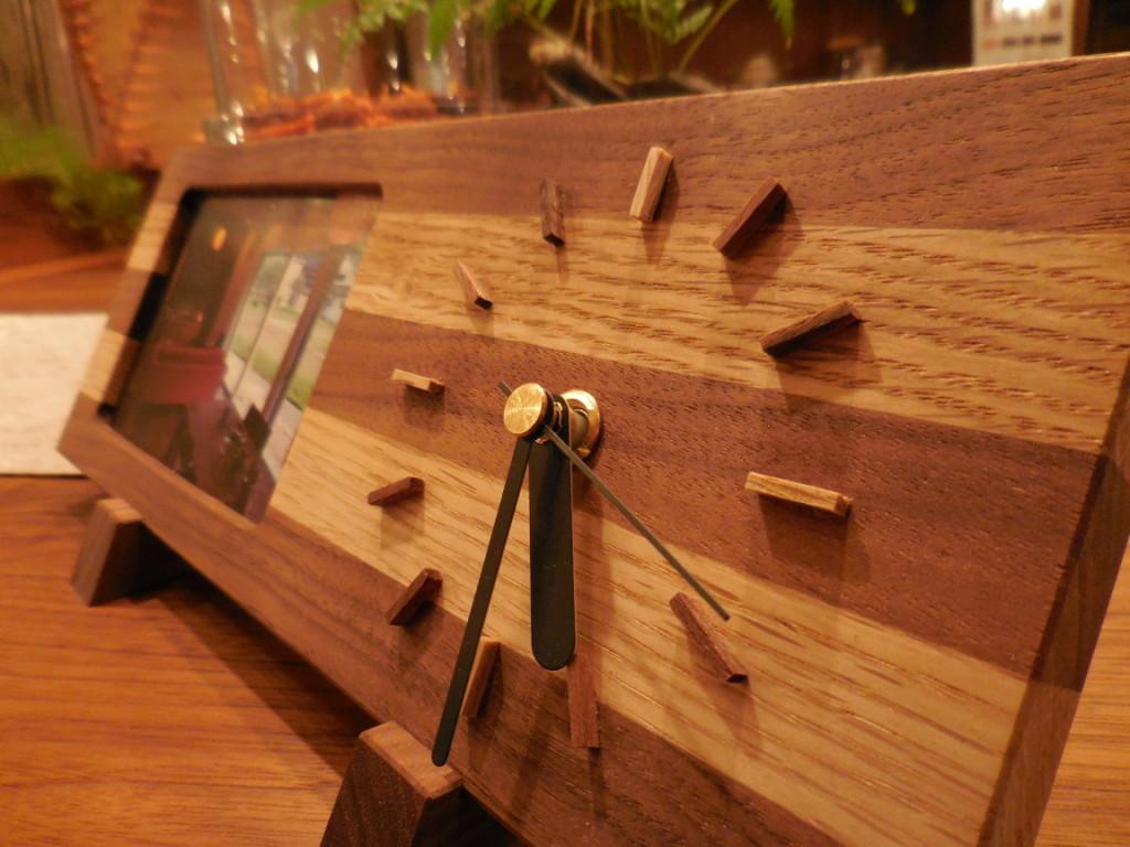 手作り時計1