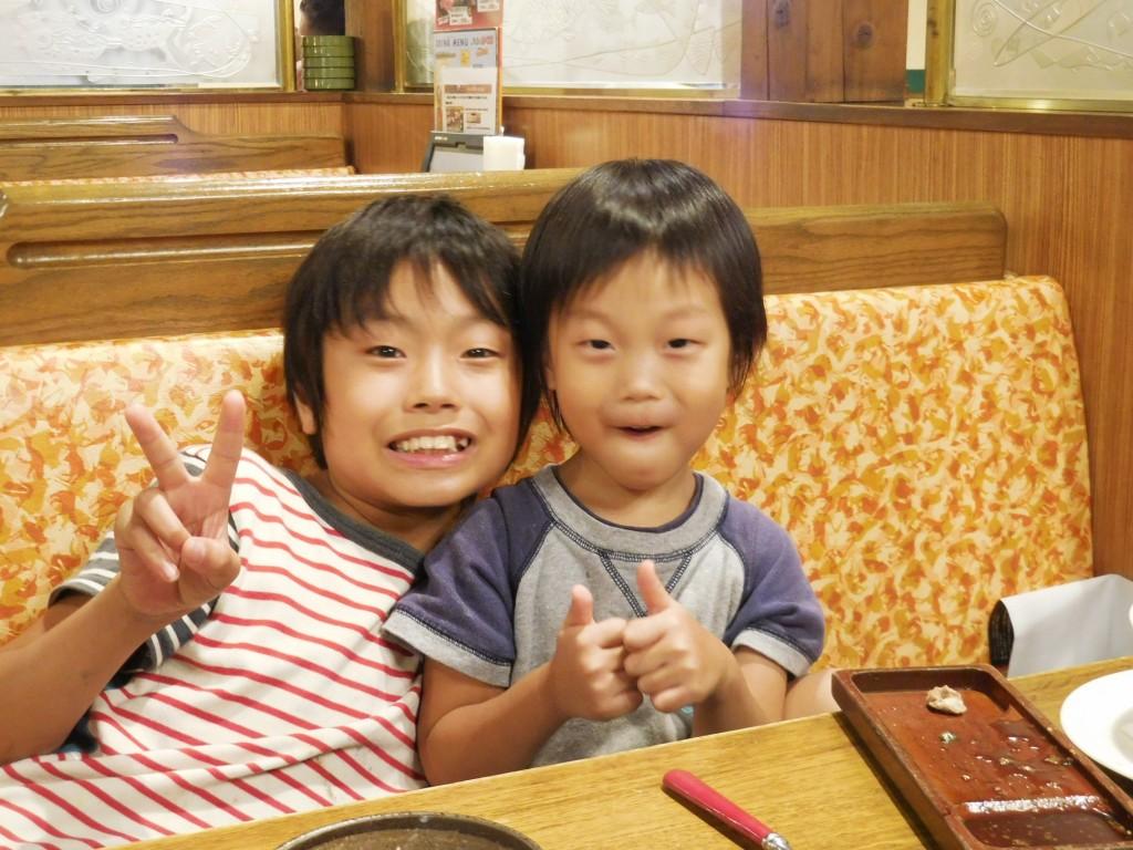 宮本社長と息子二人
