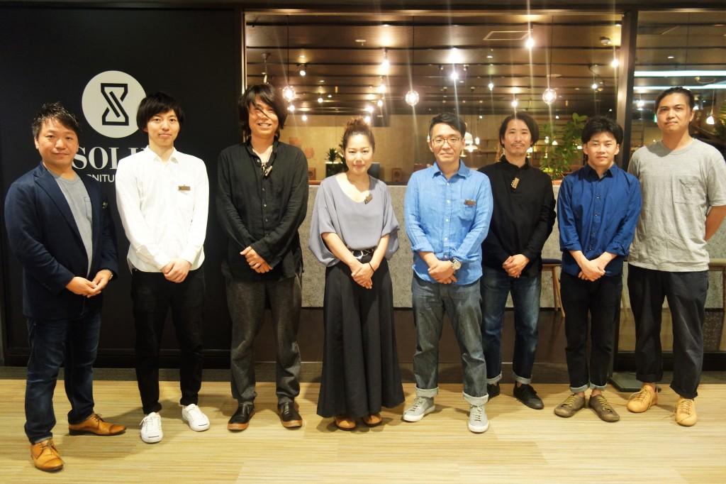 SOLID福岡オープン×富山SOLID家具 7