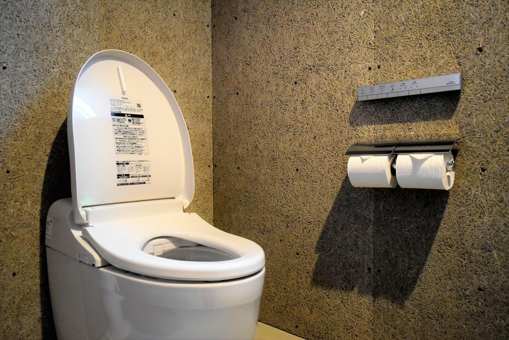 ミヤモト家具SOLIDのトイレ