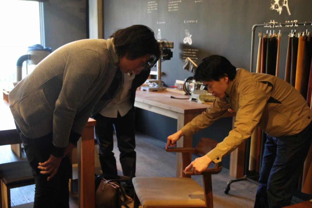 ミヤモト家具×ナガノインテリア  SOLID新製品開発打合せ27