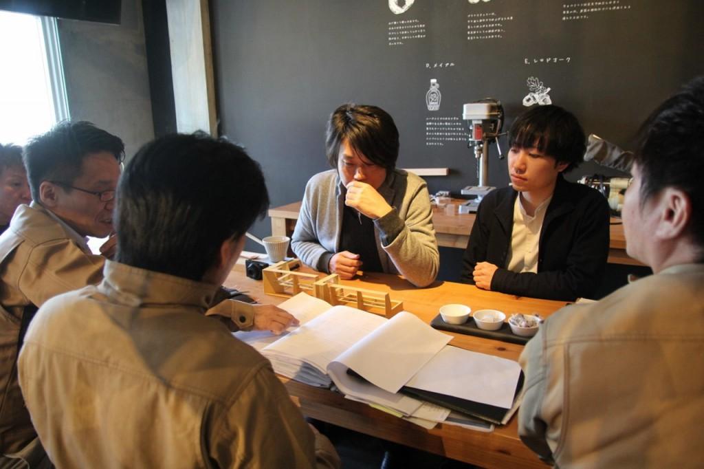 ミヤモト家具×ナガノインテリア  SOLID製品開発会議中4