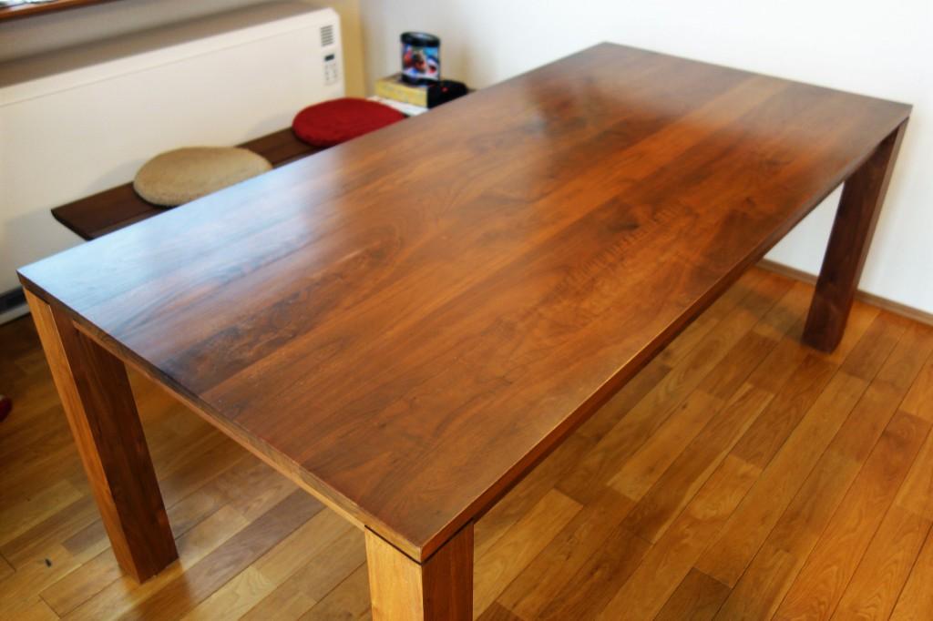 ミヤモト家具で購入したテーブルの7年後!こうなった!めちゃくちゃカッコイイ!!