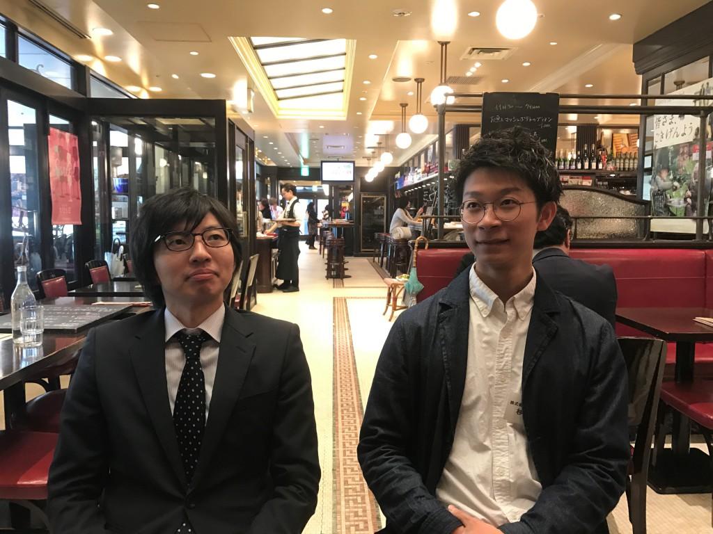 ミヤモト家具の杉木専務と岡本SOLID店長