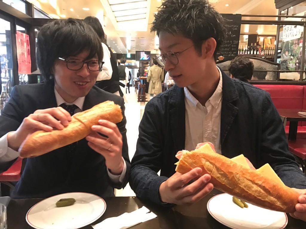 ミヤモト家具の杉木専務と岡本SOLID店長2