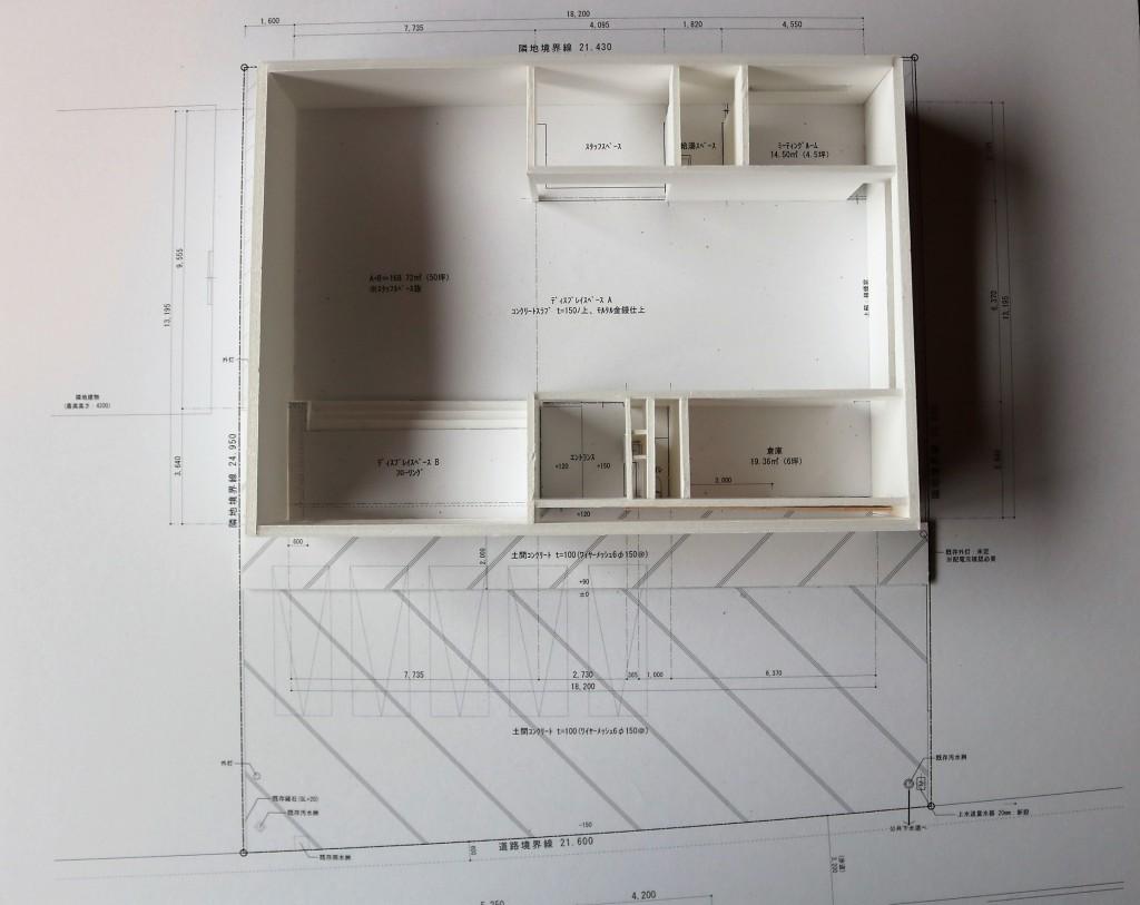 SOLID KANAZAWA 店舗模型 5