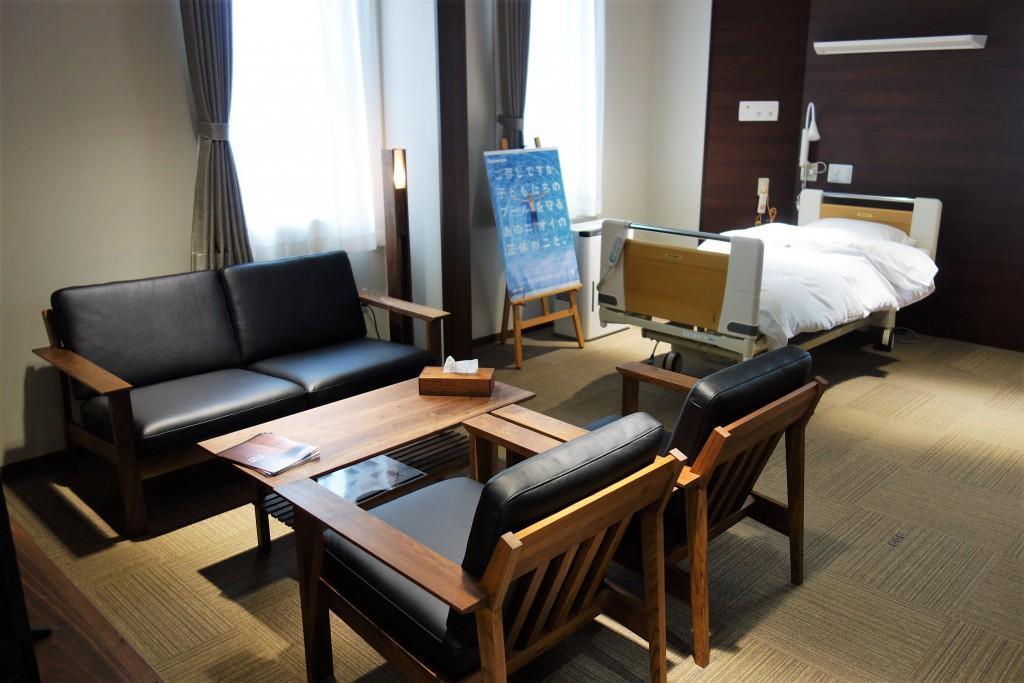 横田記念病院  特別室  ミヤモト家具 (3)