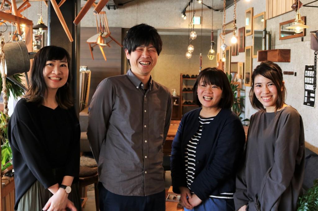 ナガノインテリア上野副所長とミヤモト家具SOLIDの皆様