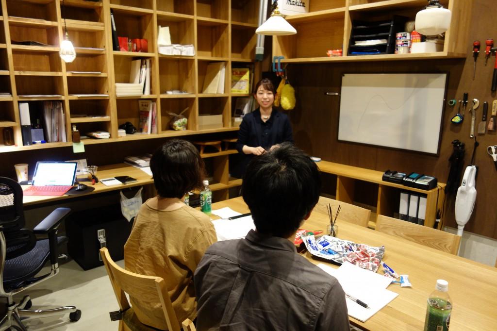 ナガノインテリア上野副長 ミヤモト家具SOLIDで研修中 (6)