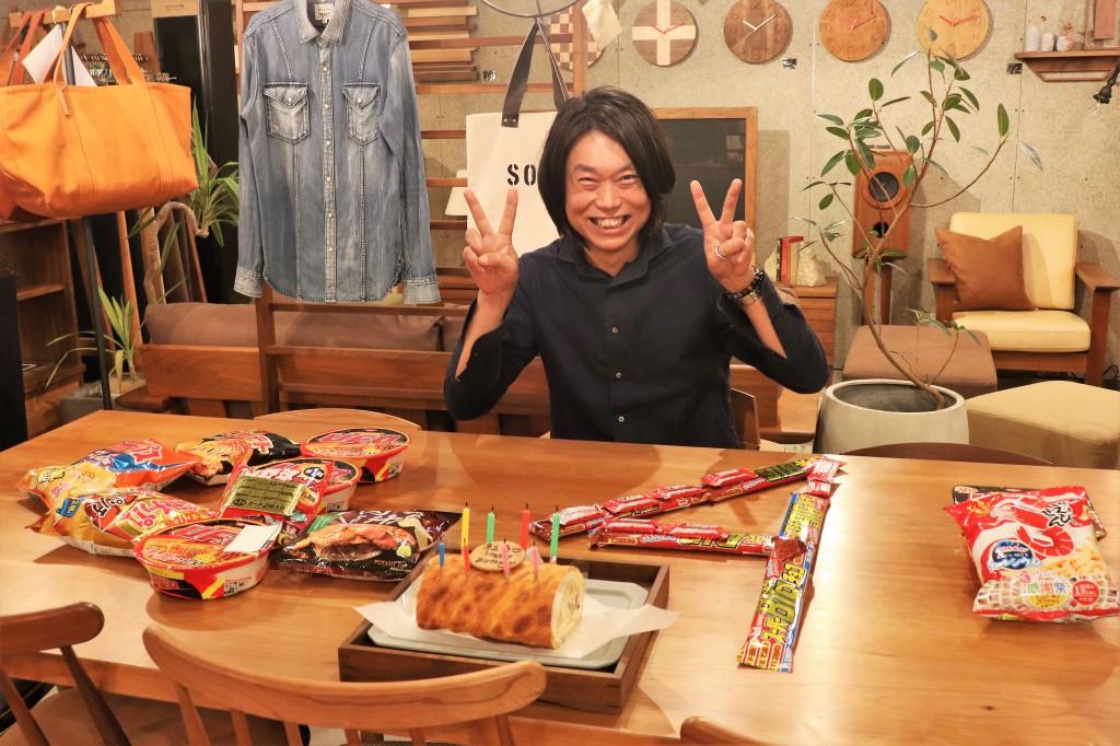 ミヤモト家具 社長44歳誕生日 2