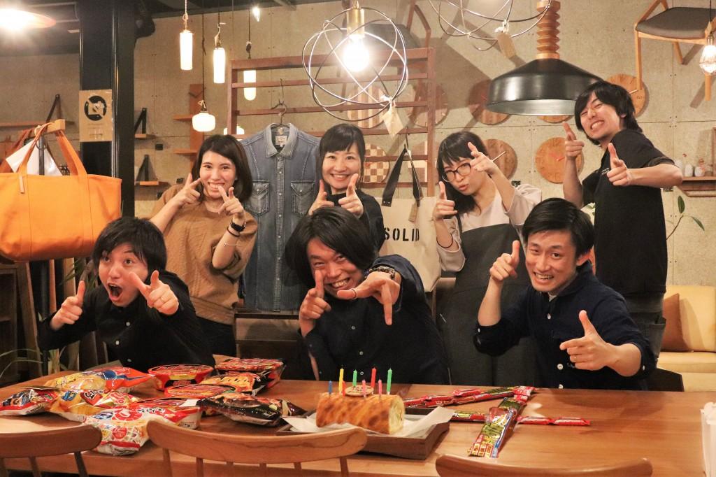 ミヤモト家具 社長44歳誕生日 3