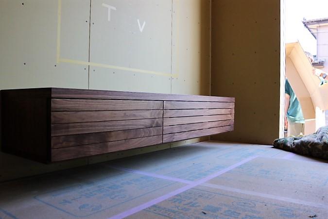 富山 ミヤモト家具 テレビボード特注家具 テレビボード造作家具真 (58)