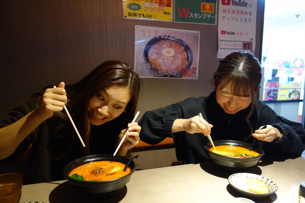 とんとんラーメン金澤森本店 SOLID金沢従業員の夜食  (3)