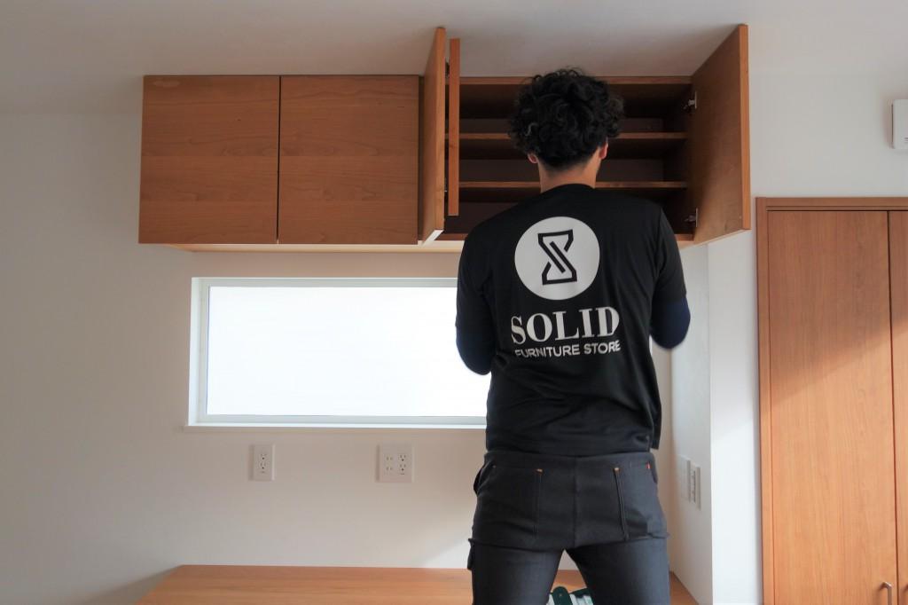 炭様 ミヤモト家具SOLID金沢 造作・特注家具 納品 (1)