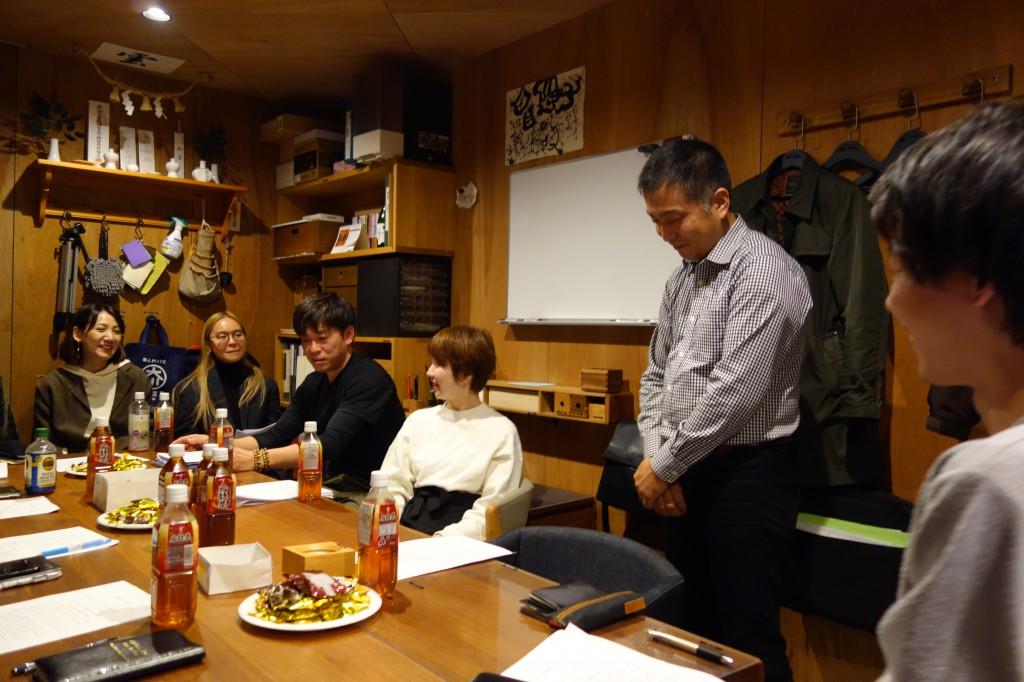 理念研修最終日 ナガノ吉村所長・齋藤・圓山 ミヤモト家具 (7)
