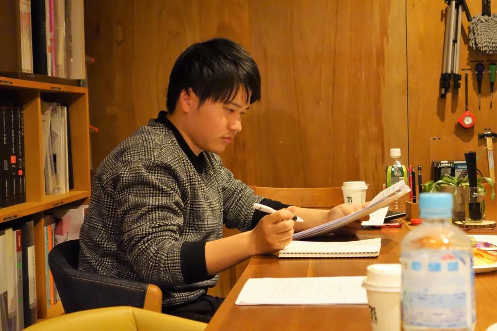 ナガノインテリア SOLID大阪 井手菜実・酒井克也 ミヤモト家具SOLIDにて研修中 (1)