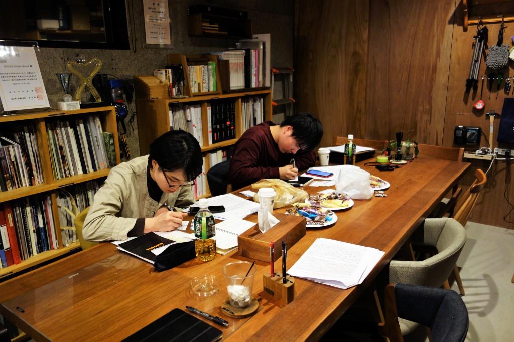 ナガノインテリア SOLID大阪 井手菜実・酒井克也 ミヤモト家具SOLIDにて研修中 (12)