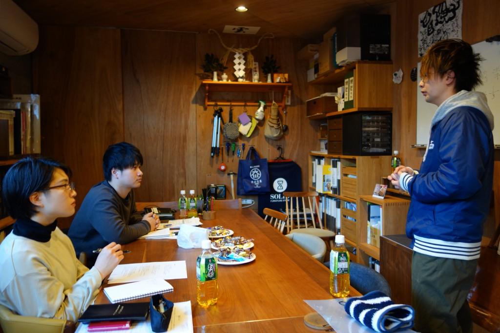 ナガノインテリア SOLID大阪 井手菜実・酒井克也 ミヤモト家具SOLIDにて研修中 (23)