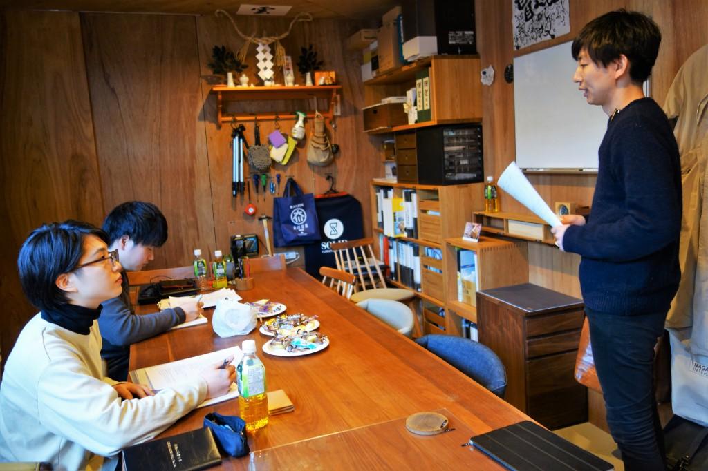 ナガノインテリア SOLID大阪 井手菜実・酒井克也 ミヤモト家具SOLIDにて研修中 (25)