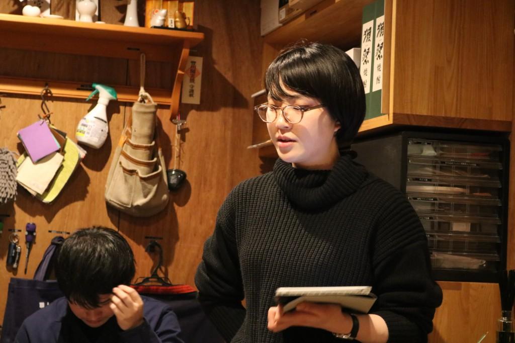 ナガノインテリア SOLID大阪 井手菜実・酒井克也 ミヤモト家具SOLIDにて研修中 (36)