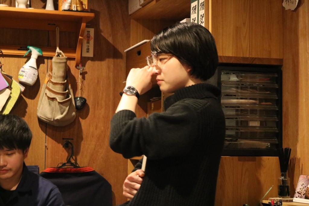 ナガノインテリア SOLID大阪 井手菜実・酒井克也 ミヤモト家具SOLIDにて研修中 (53)