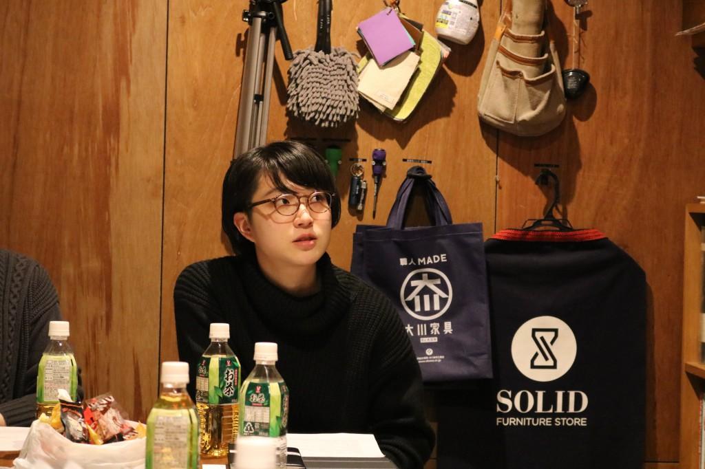 ナガノインテリア SOLID大阪 井手菜実・酒井克也 ミヤモト家具SOLIDにて研修中 (80)