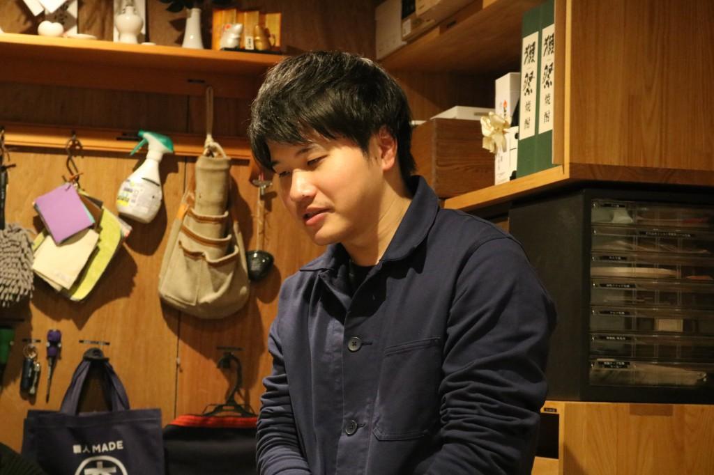 ナガノインテリア SOLID大阪 井手菜実・酒井克也 ミヤモト家具SOLIDにて研修中 (91)