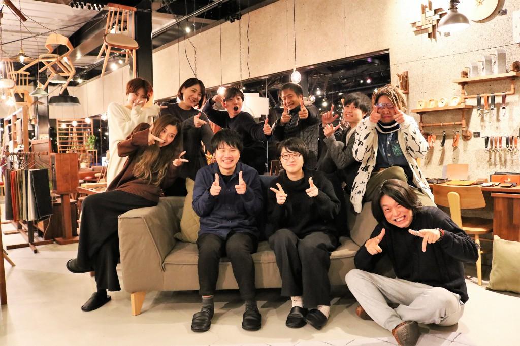 理念研修 SOLID大阪 酒井さん井手さん in ミヤモト家具 (3)