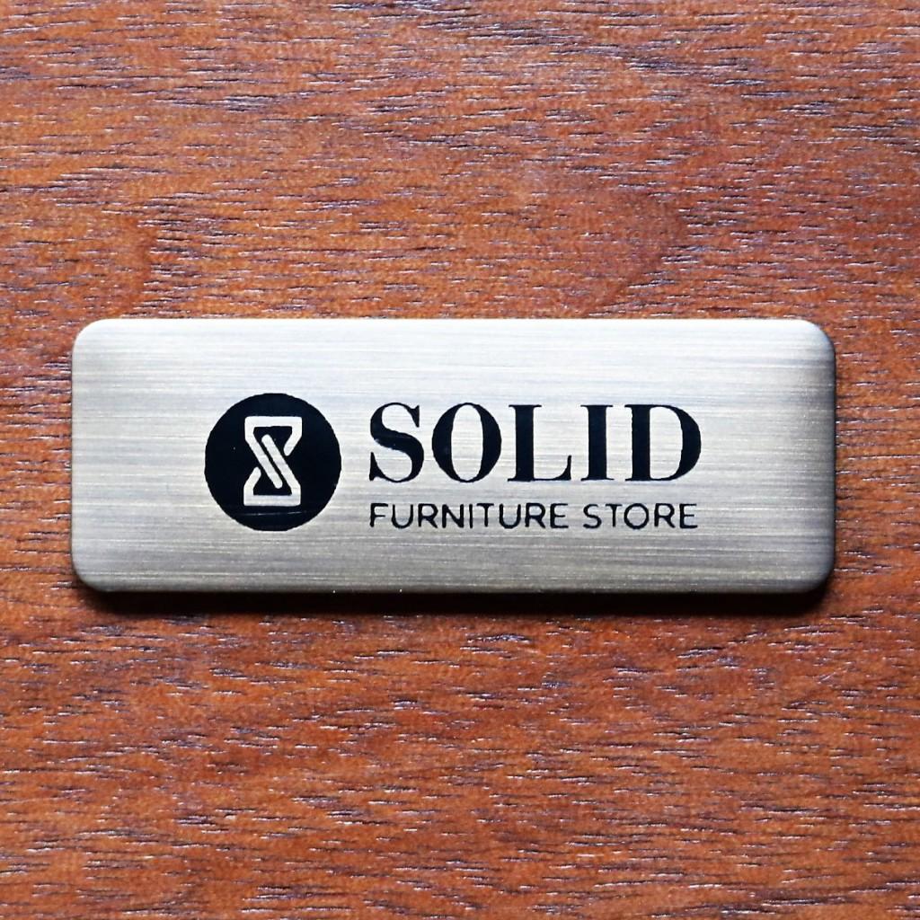 SOLID真鍮ロゴプレート決定版1