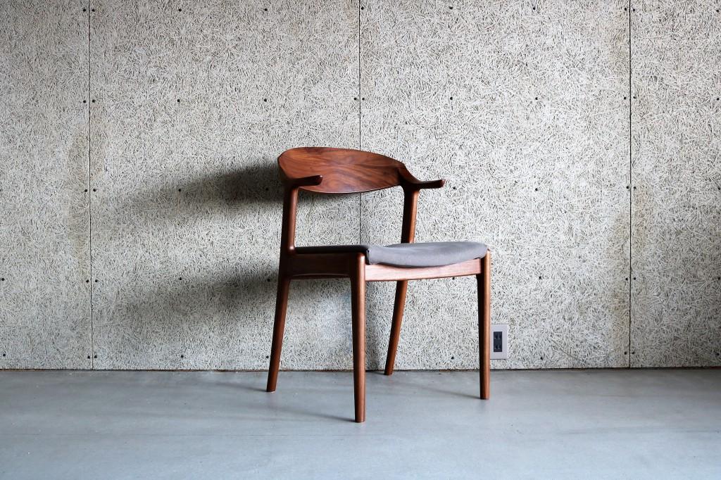 富山 家具 椅子 チェアー 木製 無垢材 ミヤモト家具 SOLID