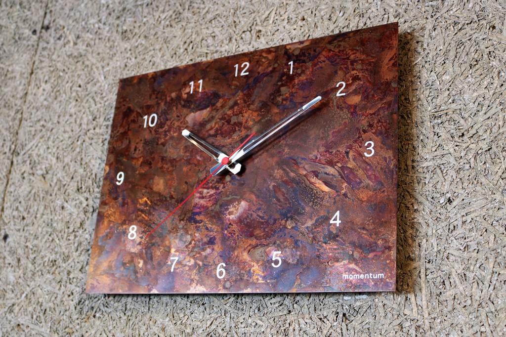 copper coloring clock square (6)