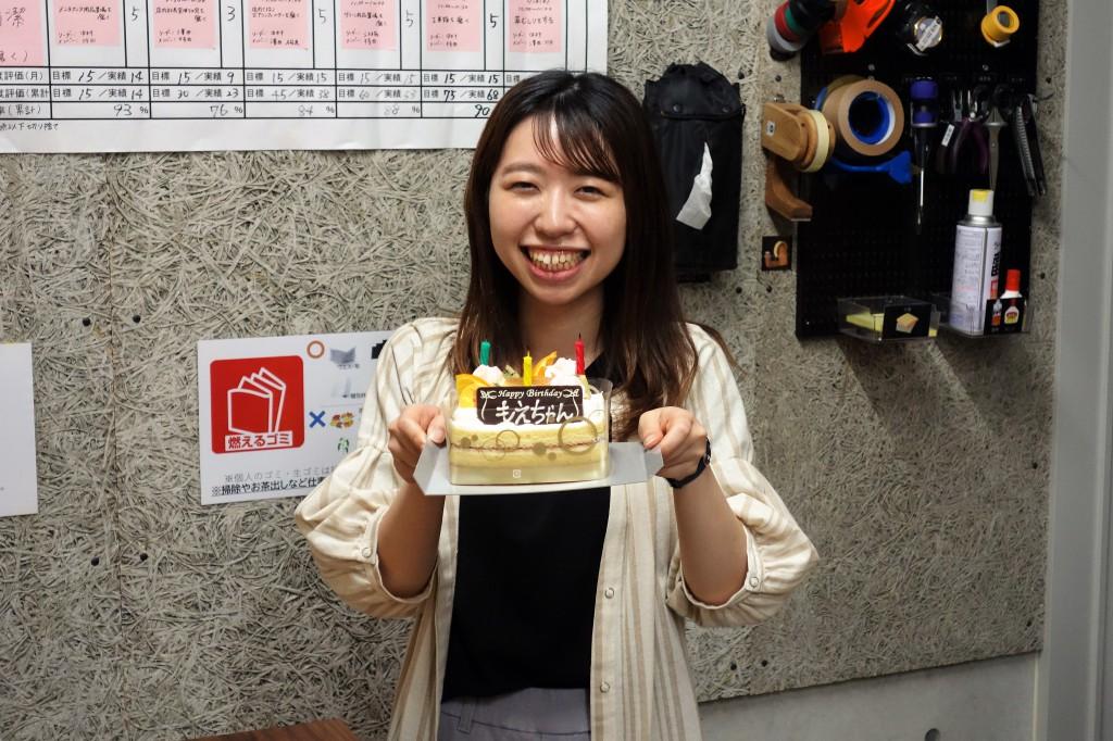 SOLID金沢 江端萌の誕生日 ミヤモト家具の社風