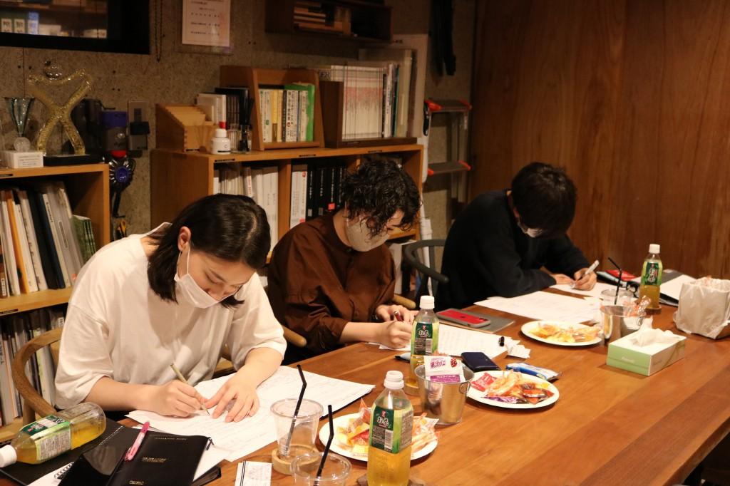 理念研修 ミヤモト家具 菊・渡辺・ナガノインテリア河合