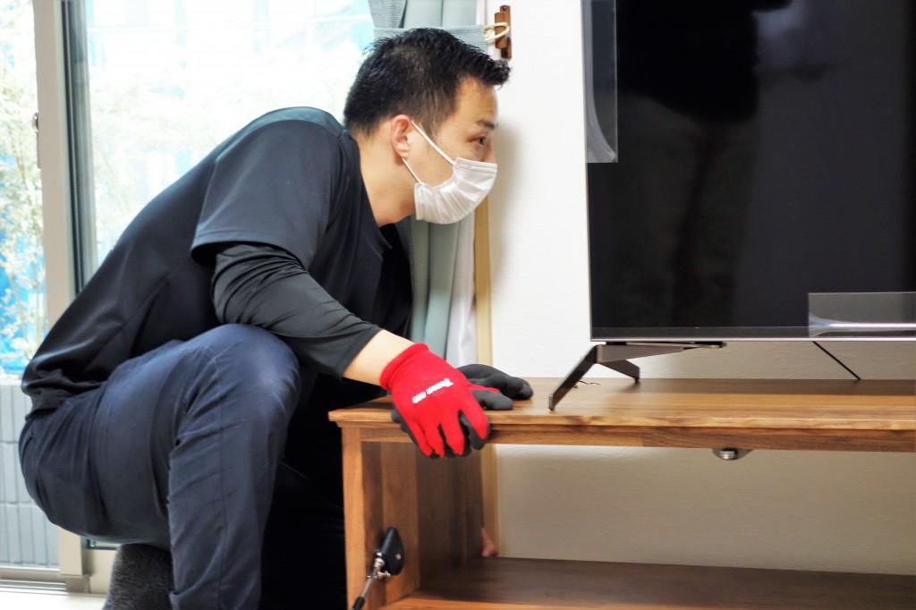 遠方配送 関東圏 ミヤモト家具 お客様宅へお届け (12)