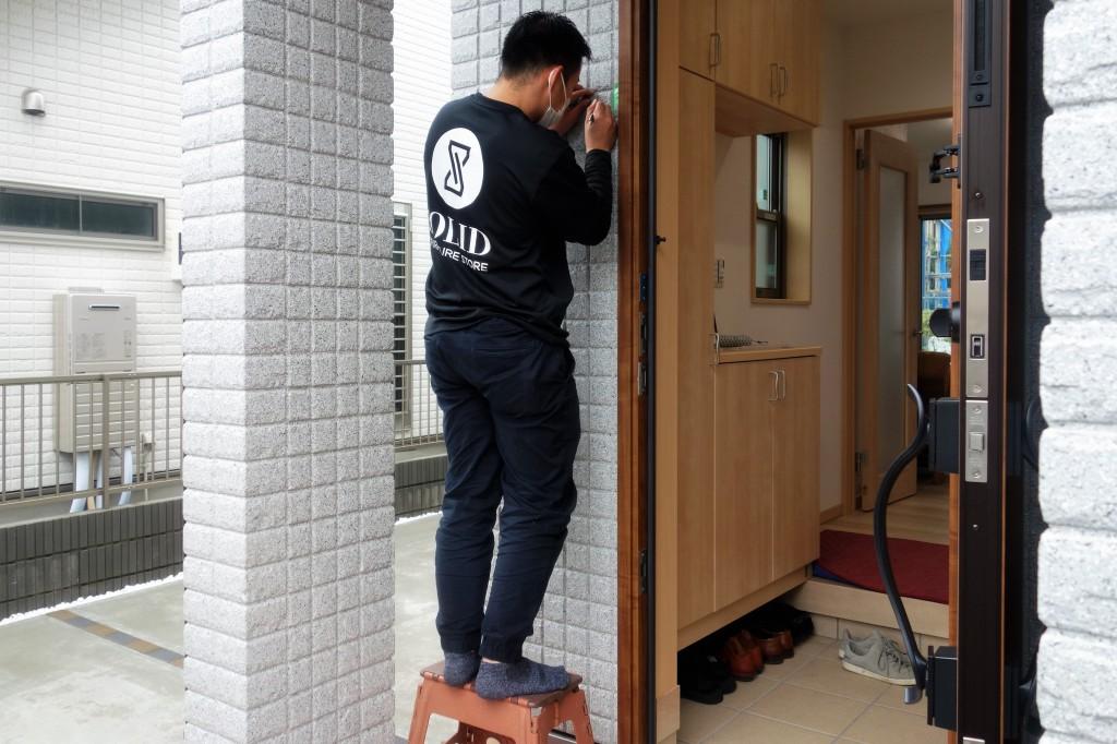 遠方配送 関東圏 ミヤモト家具 お客様宅へお届け (41)