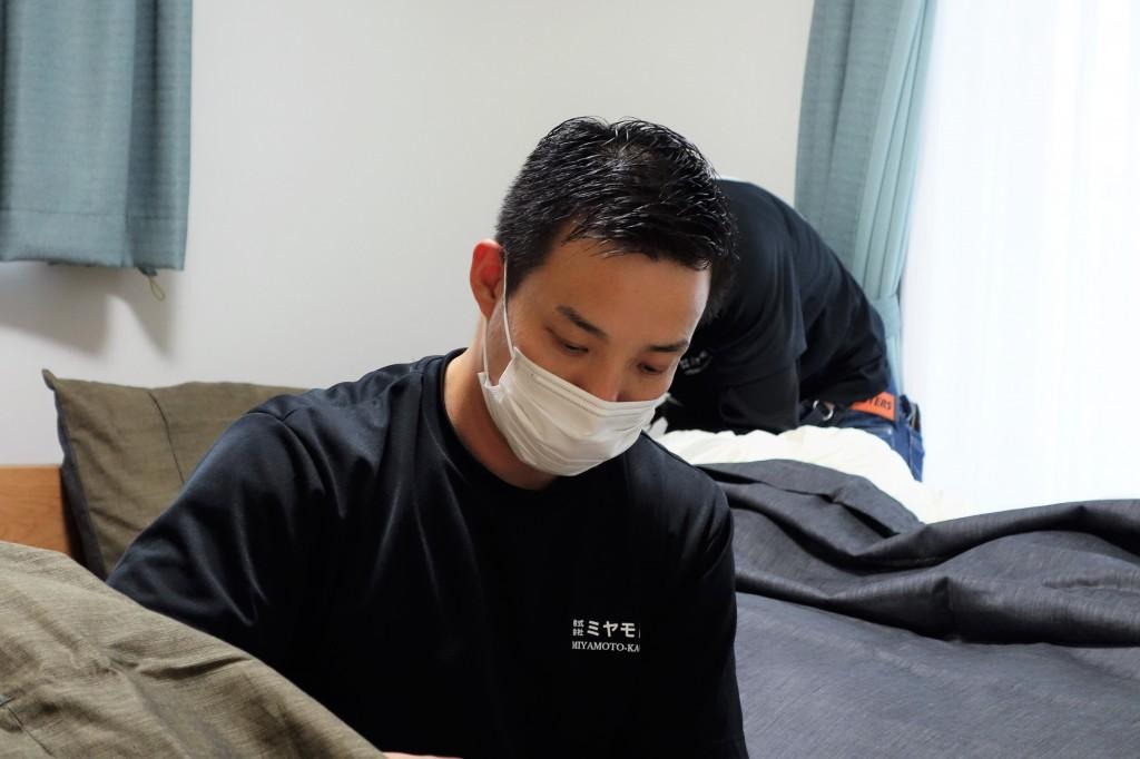 遠方配送 関東圏 ミヤモト家具 お客様宅へお届け (73)