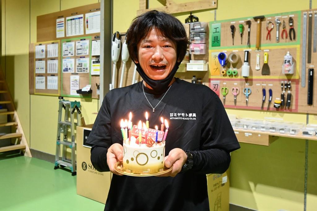 ミヤモト家具 配送部最強説 かずひろ誕生日編 (6)