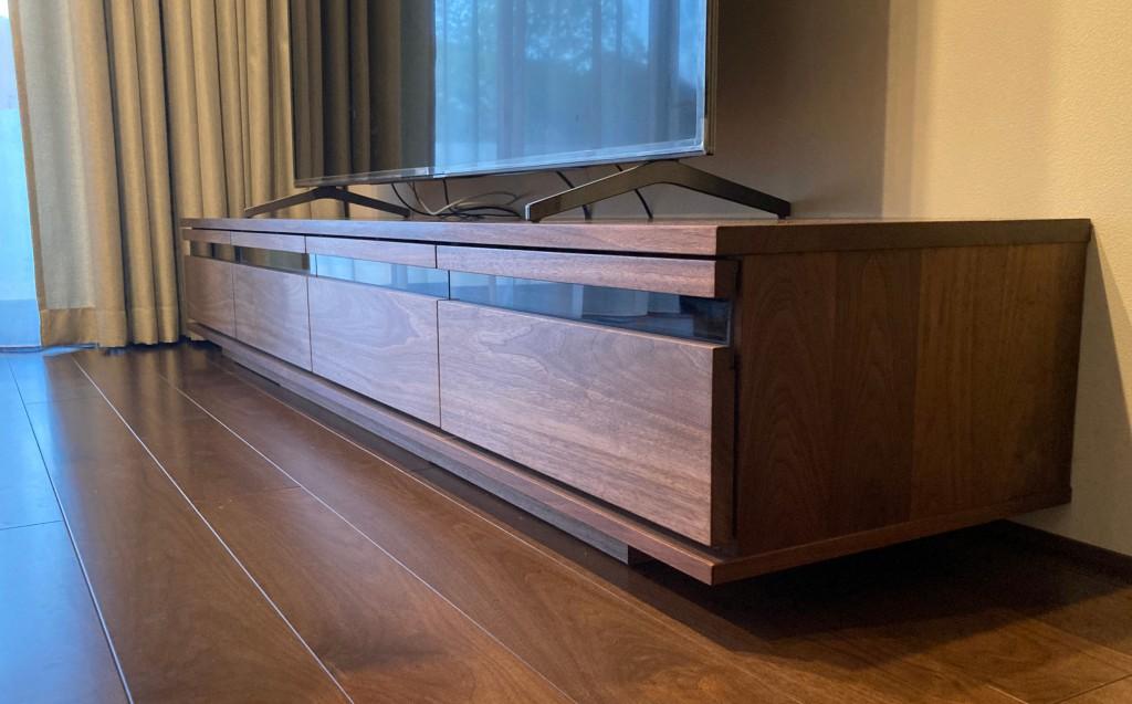 特注置き型テレビボード (2)