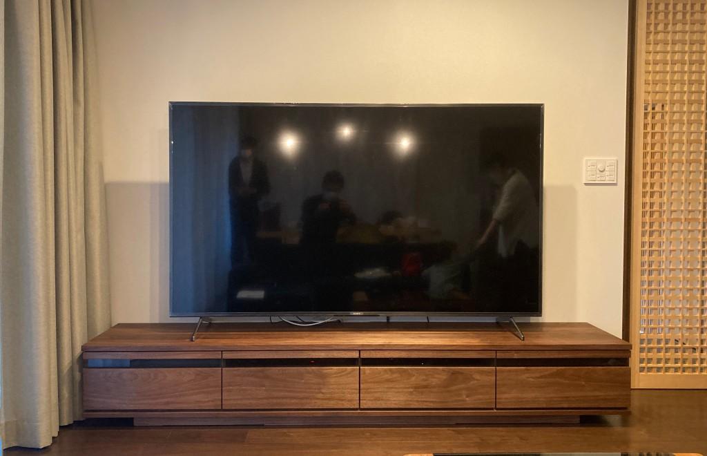 特注置き型テレビボード (3)