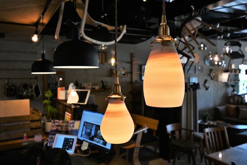 陶器照明 AFオリジナル ミヤモト家具 SOLID富山・金沢 RENSEY (1)