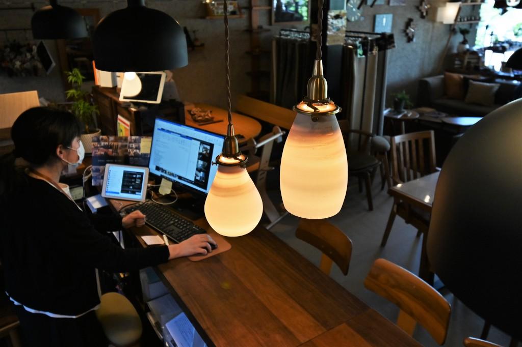 陶器照明 AFオリジナル ミヤモト家具 SOLID富山・金沢 RENSEY (2)