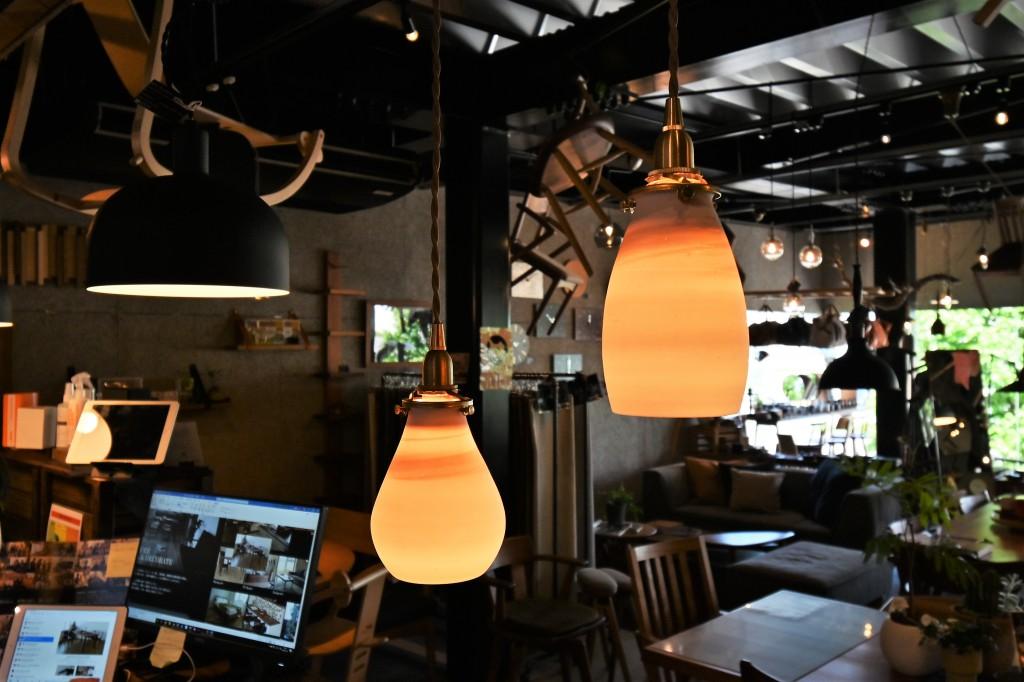 陶器照明 AFオリジナル ミヤモト家具 SOLID富山・金沢 RENSEY (5)