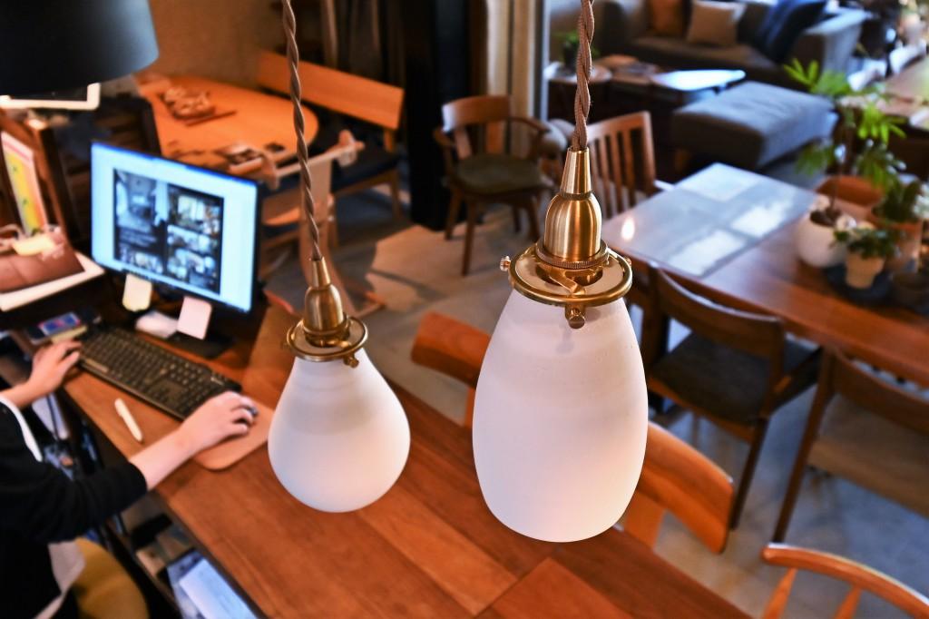 陶器照明 AFオリジナル ミヤモト家具 SOLID富山・金沢 RENSEY (6)