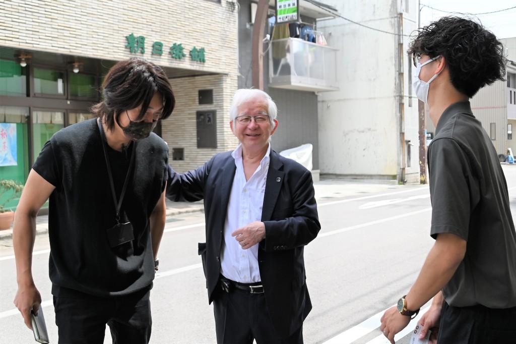 小山昇社長 来社ベストショット 【2021.06.28】 (4)