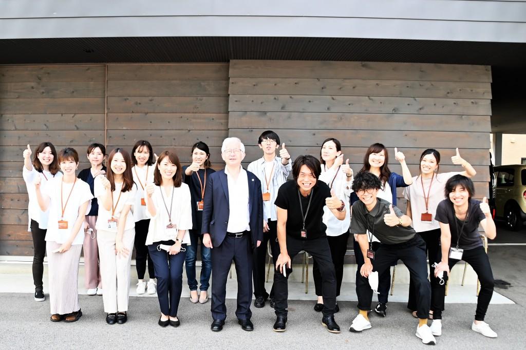 小山昇社長 SOLID・LOWVE来社 (2021.06.28)