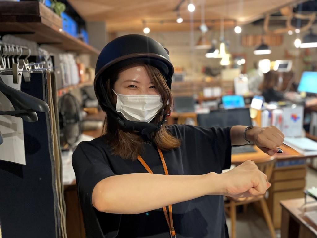 バイク半ヘルメット購入【ミヤモト家具社長ブログ】 (1)