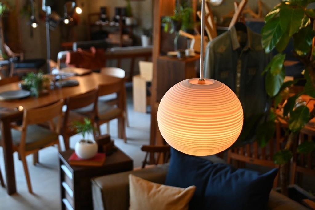 Transparent-Toki Pendant Light E type照明 (1)